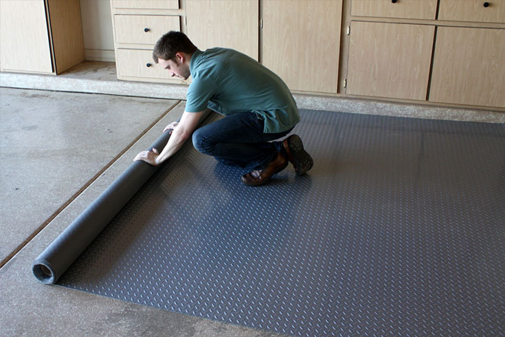 Using Rubber Mats In Your Garage Pros, Rubber Mat For Garage